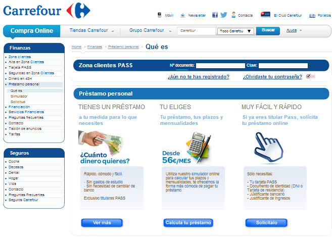 carrefour pass opiniones
