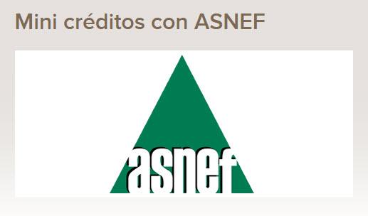 creditos asnef