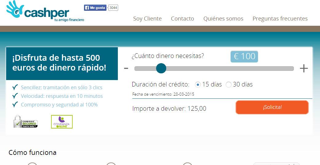 minicreditos online con ASNEF
