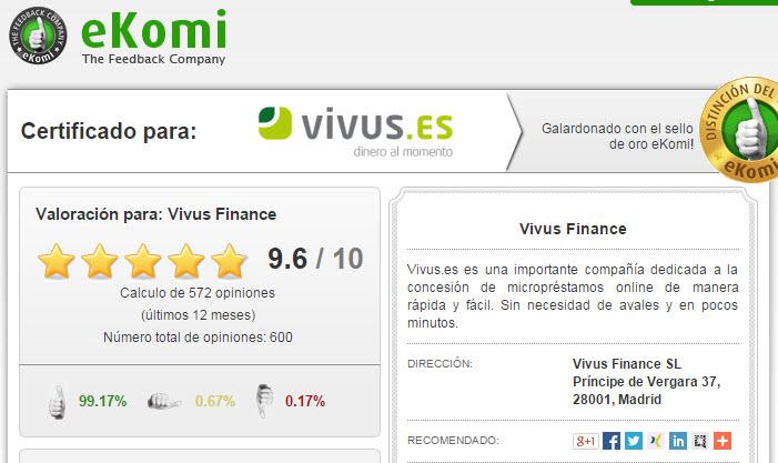 opiniones Vivus 2015