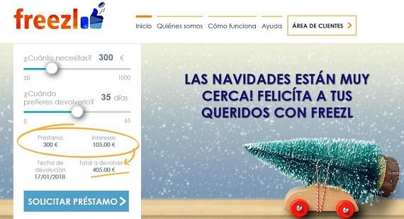 creditos navidad 2017 online
